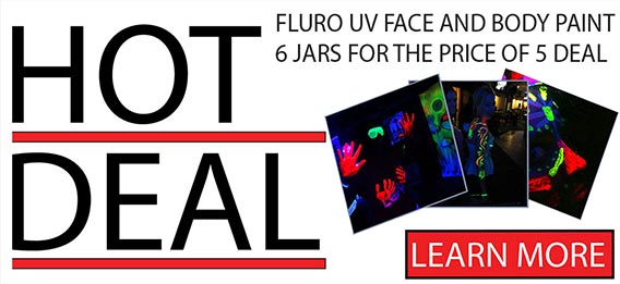 UV Face Body Paint Deal