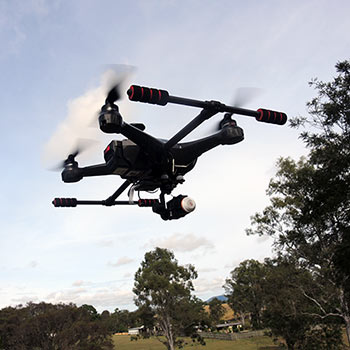 Drones are perfect for shooting Aerial Photography